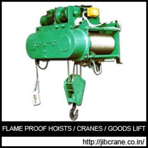 Flame Proof Hoists Exporter