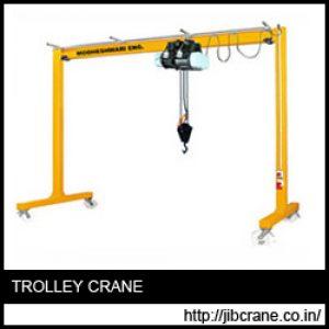 Trolley Crane Manufacturer, supplier India