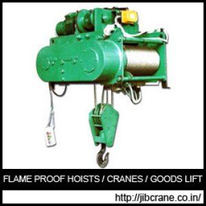 Flame Proof Hoists Exporter
