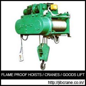 Flame Proof Hoists India