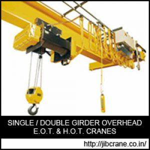 Single Girder Overhead Crane manufacturer Gujarat